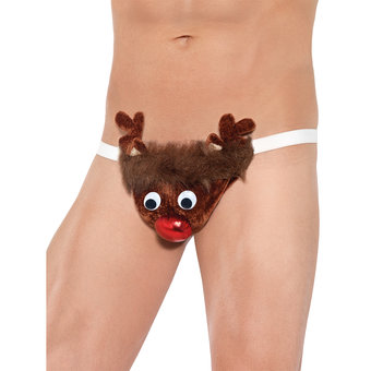 Reindeer Thong for Him