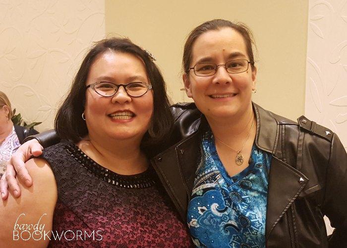 Cecilia Tan and Thien-Kim at RWA 2017