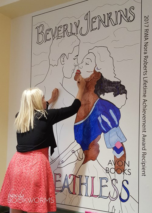 Giant Beverly Jenkins cover coloring page