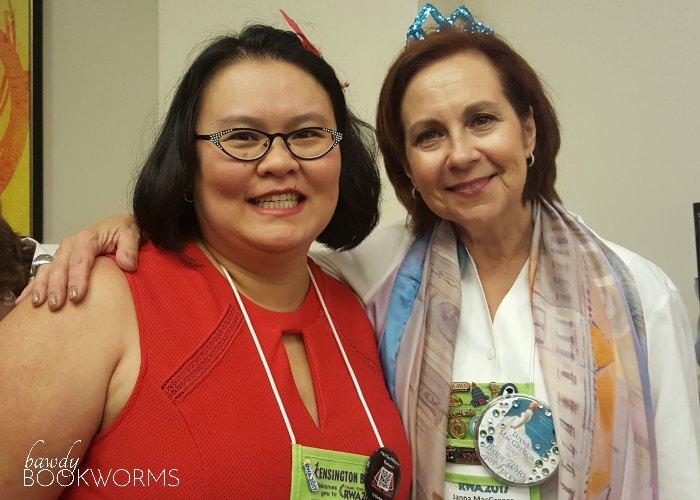 Thien-Kim with Janna MacGregor at RWA 2017