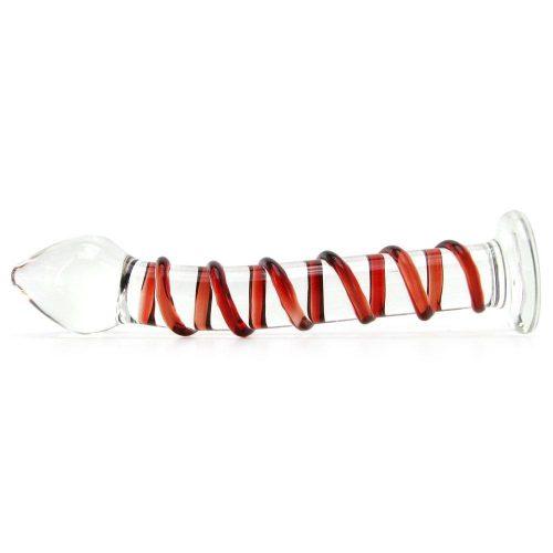 Mr Swirly Glass wand side