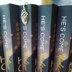 Tightly Wound Dark Heart Book Hook