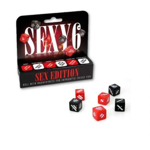 Sexy 6 Dice