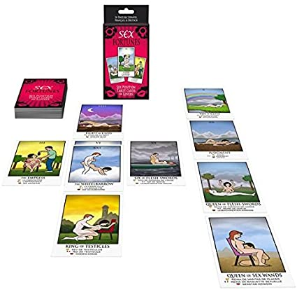 Sex Fortunes Tarot Cards