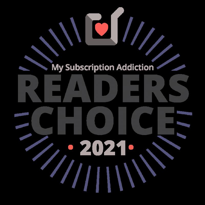My Subscription Addiction Reader's Choice Award