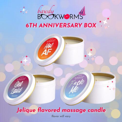 Jelique Flavored Massage Candles